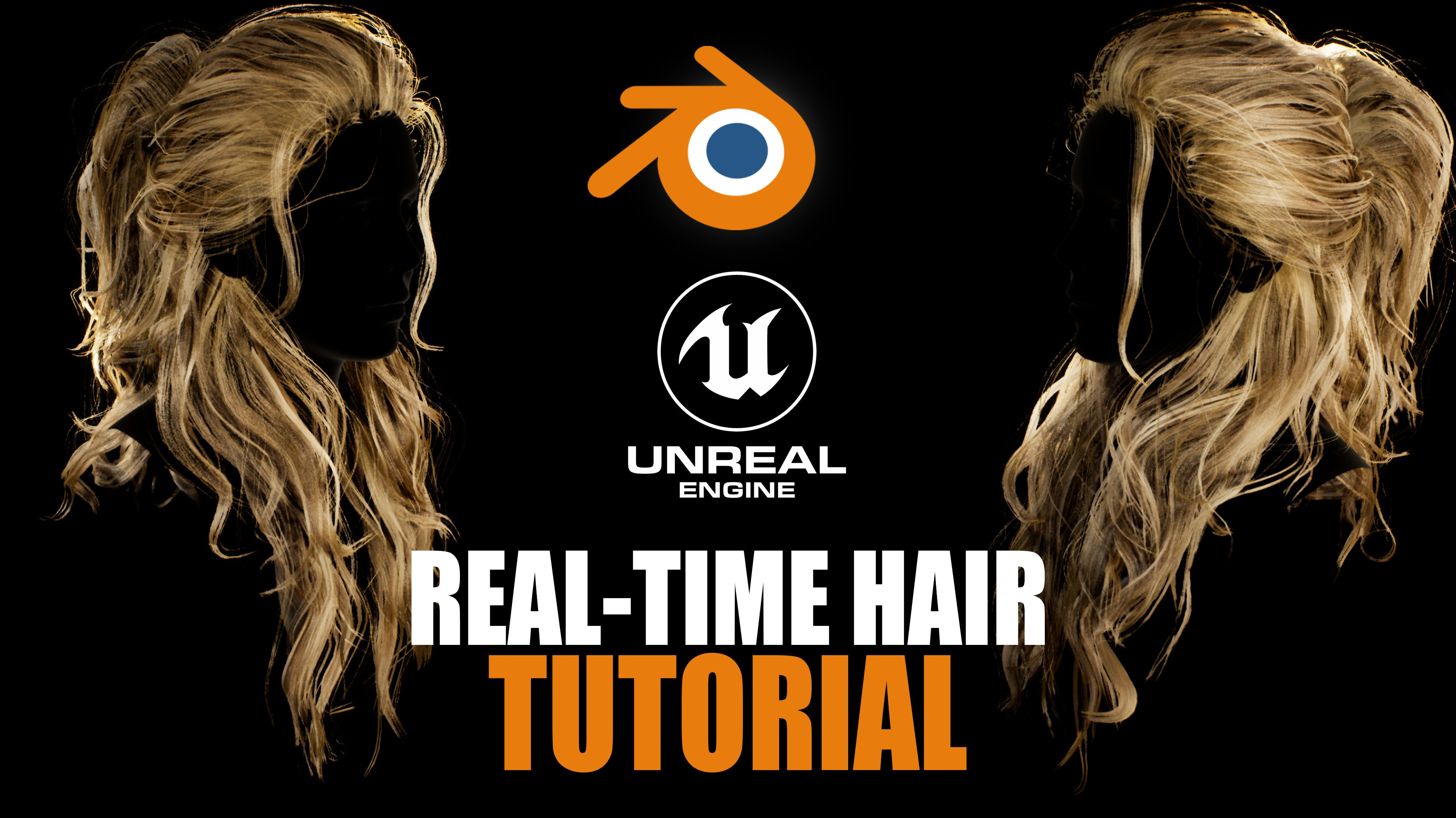 Real-Time/Game-Ready Hair Creation | FlippedNormals